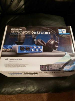 PRESONUS AUDIOBOX 96 STUDIO Bundle for Sale in Bolingbrook, IL