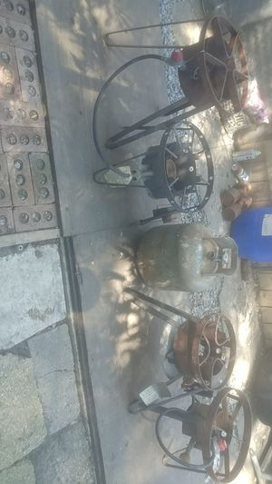 Outdoor Single Gas Burners /with 20lb Tank/Mechones de gas con Tanque for Sale in Chicago, IL