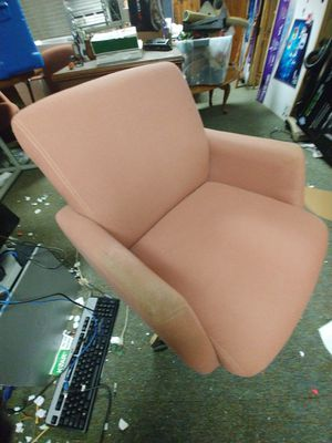 2 Swiveling decorator casaul chairs for Sale in Traverse City, MI
