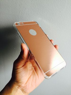 i6+/6s+ Rose gold fashion mirror case for Sale in New York, NY