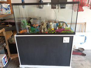 60 gal aquarium for Sale in Piedmont, SC