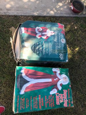 Dancing Mr. and Mrs. clause animated for Sale in Riverside, CA