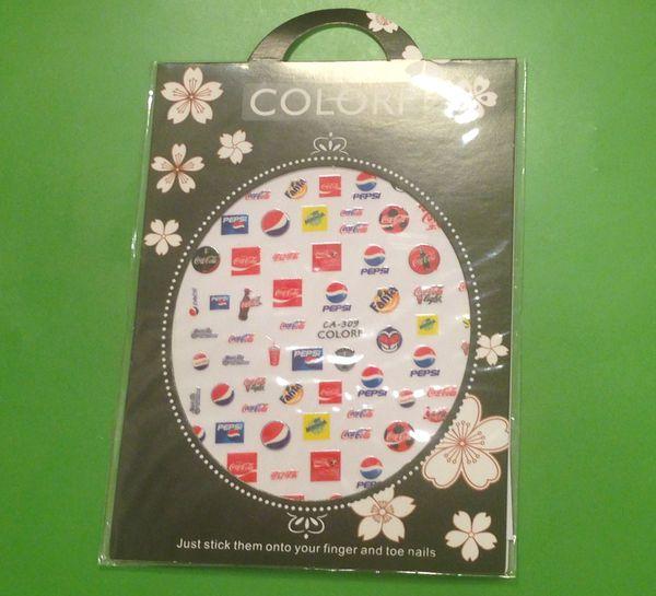 Fashion Logo Nail Stickers