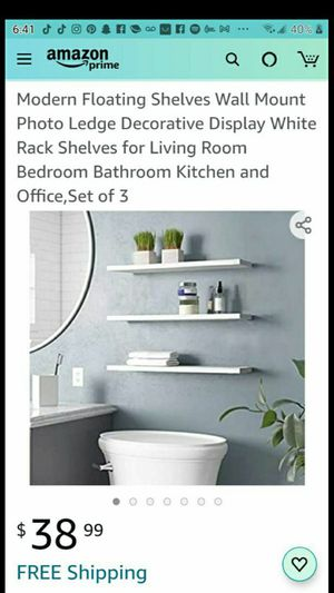 Shelves wall mount for Sale in Las Vegas, NV