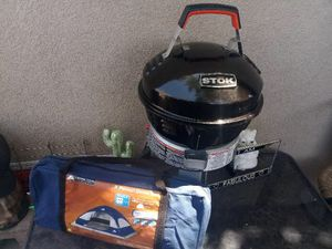 Brand new grill Brand new tent for Sale in Las Vegas, NV