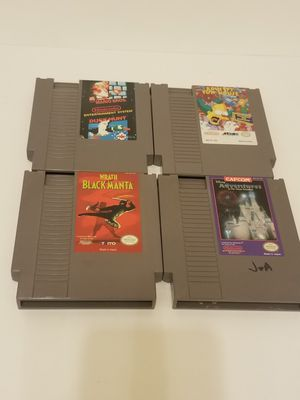 Original Nintendo nes games $20 takes all!! for Sale in Cypress, TX