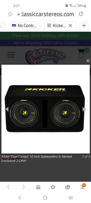Speaker box kicker for Sale in Alameda, CA