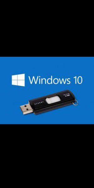 WINDOWS 10 USB DRIVE! for Sale in Fresno, CA