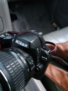 Nikon D40 with special lense for Sale in Austin, TX