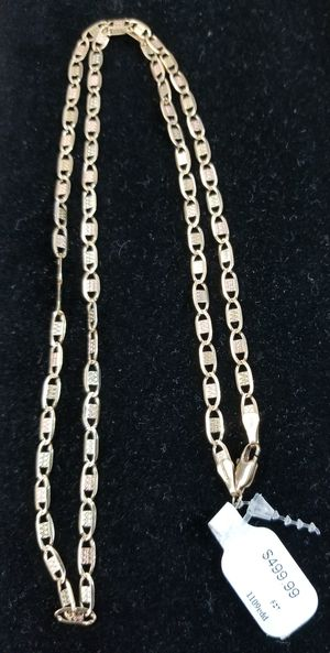 """Gold chain 23"""" for Sale in Chicago, IL"""