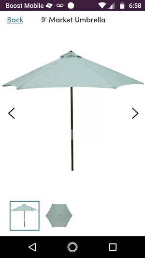 Brand new patio umbrella brand new worth 60 bucks asking or better for Sale in Brookneal, VA