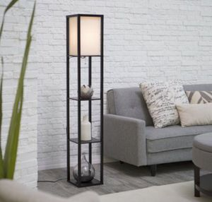 Modern lamp with shelves for Sale in Denver, CO