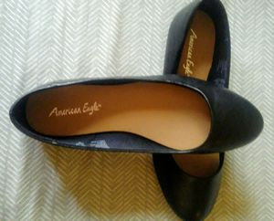 American Eagle Payless shoes, black flats [size 7 1/2, new never worn] for Sale in Prineville, OR