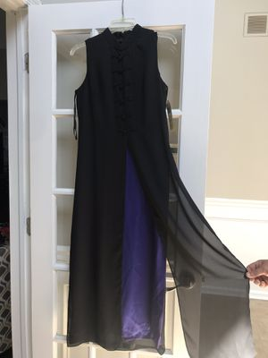 Black / purple dress for Sale in Lumberton, NJ