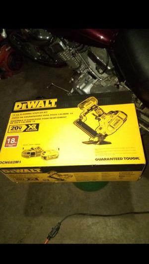 (NEW) DEWALT 20v Max Floor Nailer. Brand new for Sale in Vancouver, WA