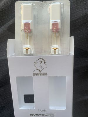 14k yellow gold ear piercing studs, 2mm princess cut cubic zirconia. for Sale in Forbestown, CA