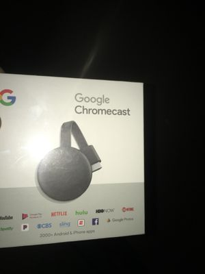 Google Chromecast for Sale in West Palm Beach, FL