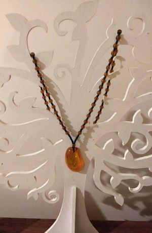 Really Pretty Amber Necklace for Sale in Los Angeles, CA