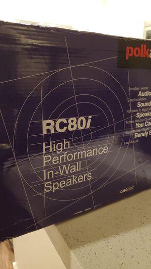 Brand New Polk Audio in-wall Speakers for Sale in Santa Ana, CA