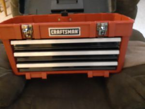 Craftsman tool box for Sale in Bristol, CT