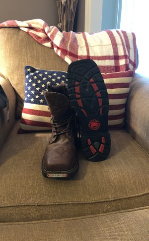 Steel Toe Boots, NEW never worn for Sale in Valencia, PA