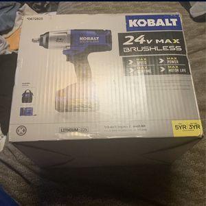 Kobalt 24v Max Brushless for Sale in Philadelphia, PA