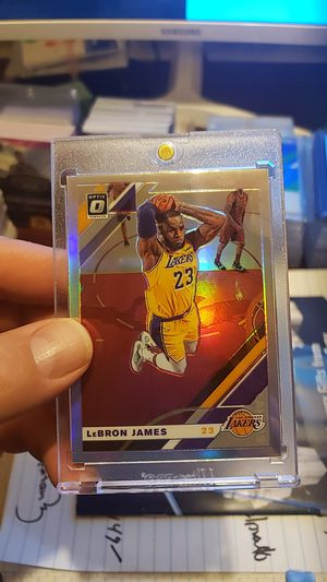 2019 optics LeBron James silver prizm rare shirt print for Sale in Las Vegas, NV