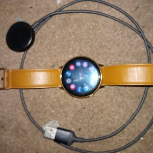Samsung,Galaxy Active 2 SmartWatch, Tan, 44cm, Gorilla Glass, Interactive Rotating Benzel for Sale in Fairview Heights, IL