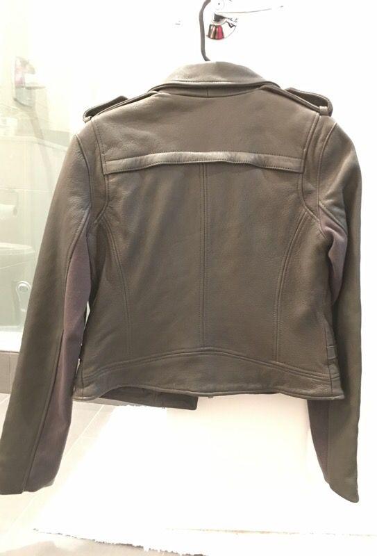 Bcbg maxazria leather jacket