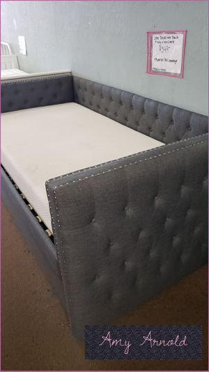 Twin Over Twin Linen Daybed for Sale in Glendale, AZ