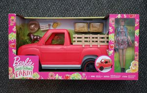 Barbie Sweet Orchard Farm Doll with Truck for Sale in Pomona, CA