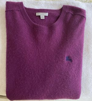 Authentic Burberry men's cashmere sweater size XL for Sale in Los Angeles, CA