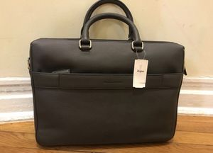 Ermenegildo Zegna leather bag brand new with tag messenger bag for Sale in Brooklyn, NY
