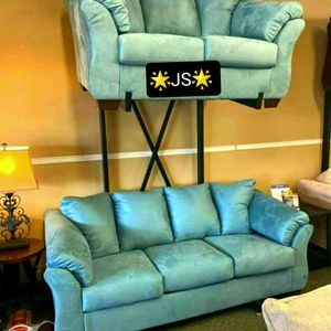 👌Darcy Sky Living Room Set by Ashley for Sale in Annapolis Junction, MD