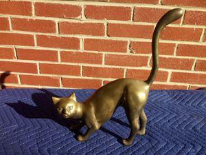 Metal cat statue for Sale in Annandale, VA