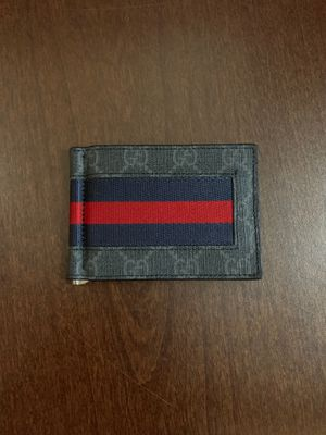 Gucci wallet w/ money clip for Sale in Tempe, AZ