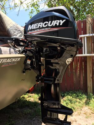 2017 Mercury Outboard 15HP for Sale in St. Petersburg, FL