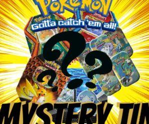 Pokemon MYSTERY TINS EX/GX/V/VMAX GUARANTEED for Sale in Murfreesboro,  TN