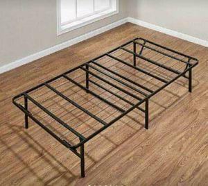 Bed Frame Platform Twin Size Foldable Metal Steel Heavy Duty for Sale in Inman, SC