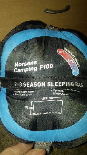 Lightweights sleep bag very warm for zero degree. Good for Backpacking for Sale in Phoenix, AZ