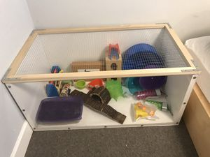Hamster Cage + Set Up Items for Sale in Portland, OR