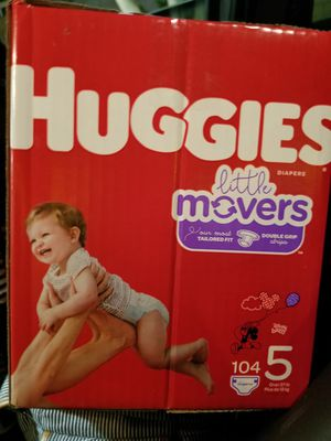 Huggies diapers size 5 for Sale in Ontario, CA
