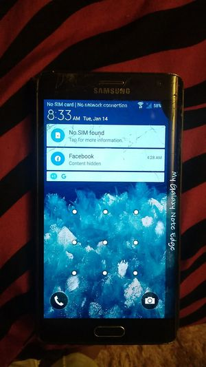 Verizon Samsung Galaxy note edge for Sale in Everett, WA