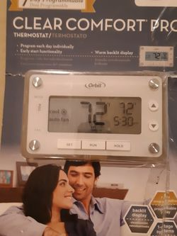 Orbit Clear Comfort Pro Thermostat -brand new for Sale in Aurora,  CO
