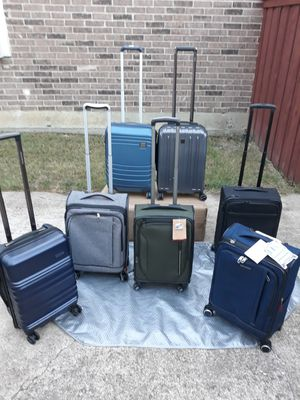 Luggage Suitcase Hardside Softside for Sale in Plano, TX