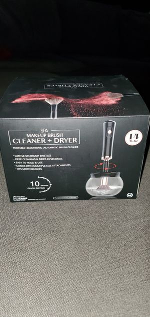 Makeup Brush Cleaner + Dryer for Sale in Rialto, CA