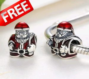 FREE Christmas Charm, Pandora Style for Sale in Hayes, VA