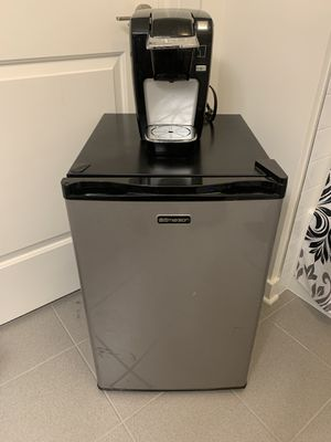 Mini refrigerator and K-cup coffee machine for Sale in Washington, DC