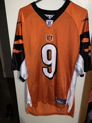 Men's Reebok Bengals Palmer jersey size L for Sale in Columbus, OH