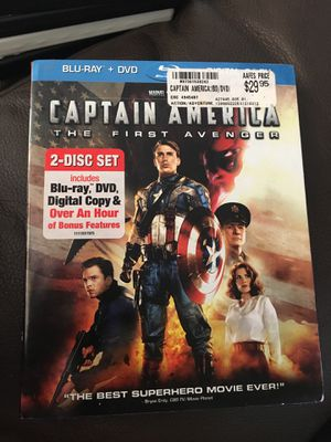 Captain America Blu-Ray and DVD for Sale in Mililani, HI
